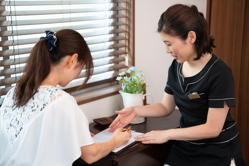 神奈川県鎌倉市 お腹痩せ専門サロン「ルーチェ」施術の流れ